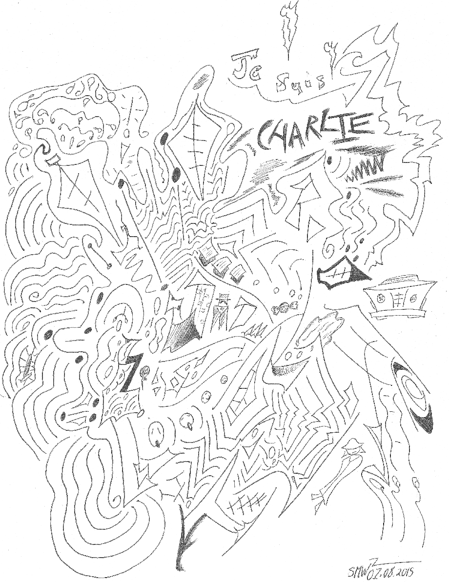 Je Suis Charlie (Art Tribute)